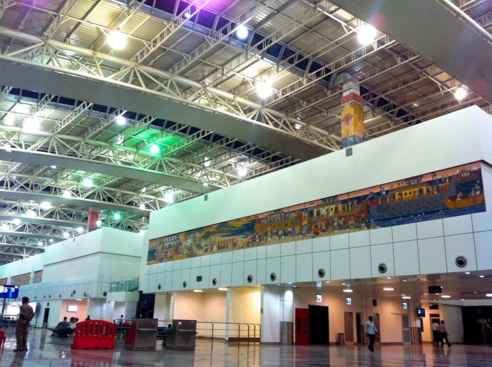 Bhubaneswar Airport will be under renovation works until March 2020.
